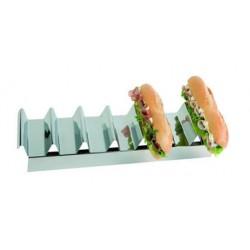 Présentoir inox à sandwichs
