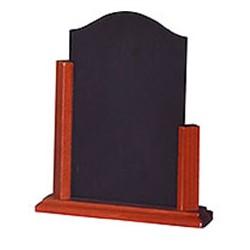 3 Chevalets - ardoise de comptoir - cadre bois verni - 105 306 et 105 307