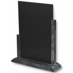 3 Chevalets - ardoise de comptoir - cadre gris lazuré - 105 414 et 105 415