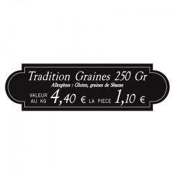"""Étiquettes """"À l'Ancienne"""" - Gravétiq 101 010AT"""