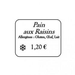 Étiquettes imprimées - PRIMÉTIQ - 112 001HSECT