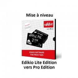 Mise à niveau Edikio Lite vers Pro Edition