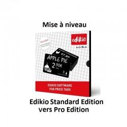 Mise à niveau Edikio Standard vers Pro Edition