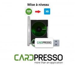 Mise à niveau Cardpresso version XXS Lite vers XS Edition