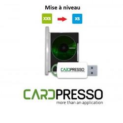 Mise à niveau Cardpresso version XXS vers XS Edition