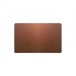 300 Cartes PVC Bronze pailleté - 54 x 86 mm