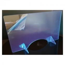 Hygiaphone plexiglas, épaisseur 5mm: H750x950mm